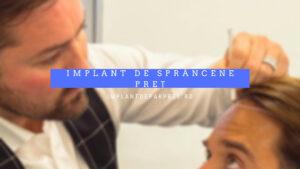 implant de sprancene pret
